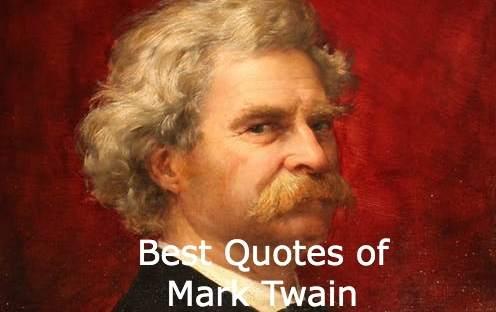 Mark Twain Quotes On Travel, Death, Truth, Love, Education