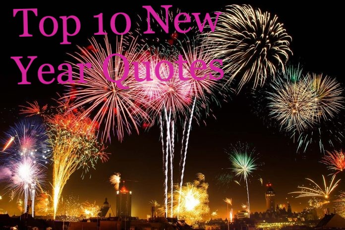 Top 10 New Year Quotes