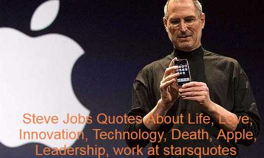 """Steven Jobs was an American business magnate, industrial designer, businessman, and proprietor of media companies. He was the president, chief executive (CEO), and co-founder of Apple Inc., Pixar's president and majority shareholder, a member of the board of directors of The Walt Disney Company following its purchase of Pixar, and NeXT's founder, chairman and CEO. Jobs, along with Apple co-founder Steve Wozniak, is widely regarded as a pioneer of the personal computer movement of the 1970s and 80s. Workers had been born and placed up for adoption in San Francisco, California. He had been brought up in the San Francisco Bay Area. Until dropping out the same year he attended Reed College in 1972, and in 1974 he traveled to India seeking enlightenment and practicing Zen Buddhism. His declassified FBI report states that while in college, he used marijuana and LSD, and once told a reporter that taking LSD was """"one of the two or three most important things"""" he had done in his life. Steve Jobs Quotes are given below."""