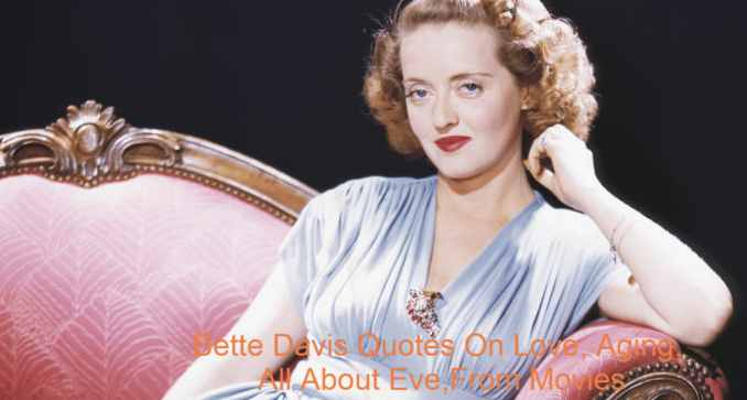 """The US film, television and theatre-actress, Ruth Elizabeth, """"Bette"""" David, April 5, 1908 – October 6, 1989. She is considered to be one of the greatest actresses in Hollywood history with her 60-year career and 100 acting credits. Her roles in a variety of film genres, from contemporary crime tapestries to historical films, horror and occasional comedies, were renowned for her impressively disagreeable sardonical characters, though her main success was in romantic drama. She was the first thespian to earn ten nominations as a recipient of two Academy Awards."""