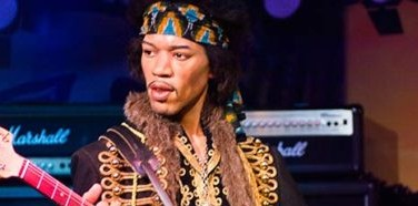"""An American rock guitarist, singer and songwriter, James Marshall """"Jimi"""" Hendrix (born Johnny Allen Hendrix; November 27, 1942 – September 18, 1970). Though his mainstream career lasted only four years, he is widely considered one of history's most influential guitarists and one of 20th century's most celebrated musicians. The Rock and Roll Hall of Fame describes him as the """"biggest instrumentalist in rock music history"""" Hendrix, who was born in Seattle , Washington, began playing guitar when he was 15."""