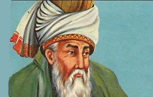The poet, fakih, Islamic scholar, theologian and Sufi mystic from Greater Khorasan, Greater Iran, from 13th cent., was from Rumi, September 1207 – 17 December 1273).