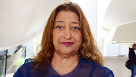Zaha Hadid, Architect of the Serpentine Sackler Gallery in Kensington Gardens
