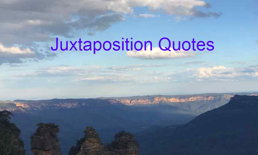 Juxtaposition Quotes About Psychology, Speeches, Practice