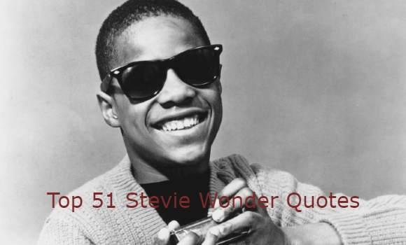Stevie Wonder Quotes