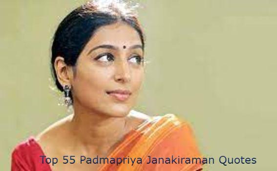 Padmapriya Janakiraman Quotes